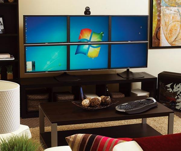AMD Eyefinity Multi Monitor System
