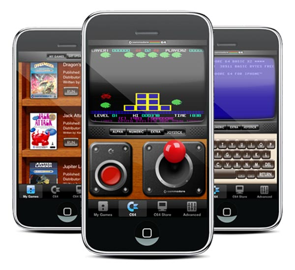 Commodore 64 Emulator iPhone App