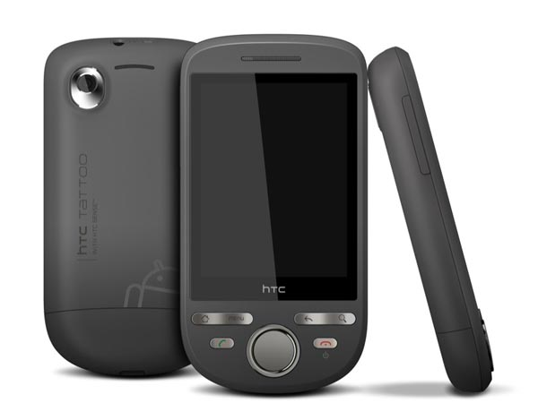 HTC Tattoo Google Android Smartphone Announced