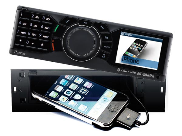 Parrot RKi8400 iPhone Car Stereo