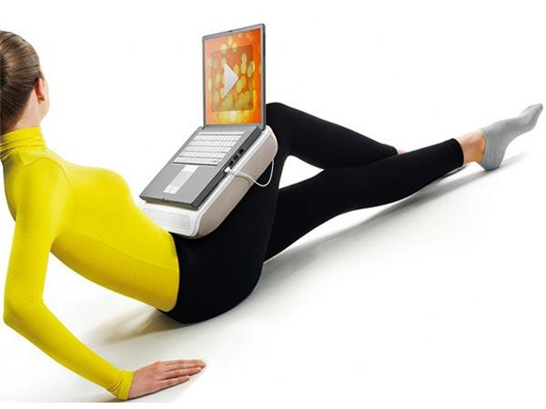 Philips CushionSpeaker Laptop Stand
