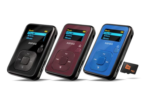 SanDisk Sansa Clip+ MP3 player