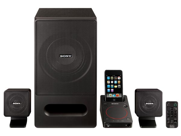 Sony SRS-GD50iP iPod Dock PC Speakers