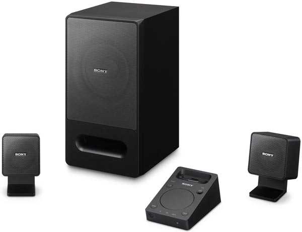 Sony SRS-GD50iP iPod Dock PC Speakers