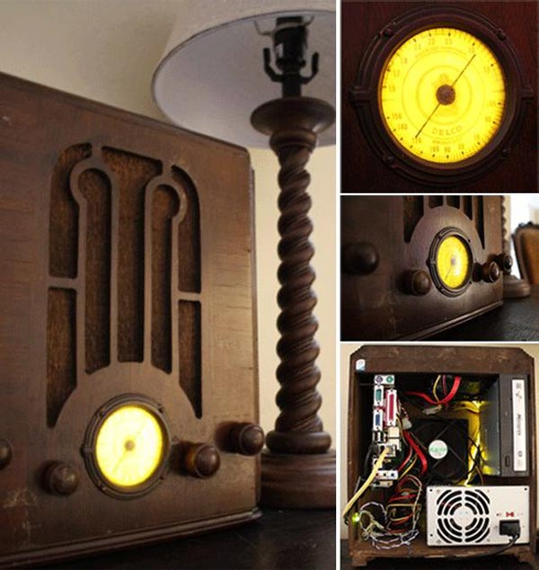 Antique Radio PC Mod