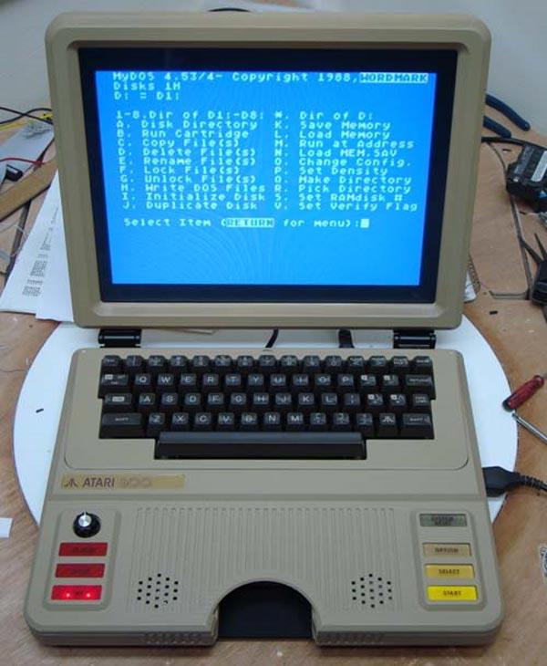 Atari 800 Laptop by Ben Heck