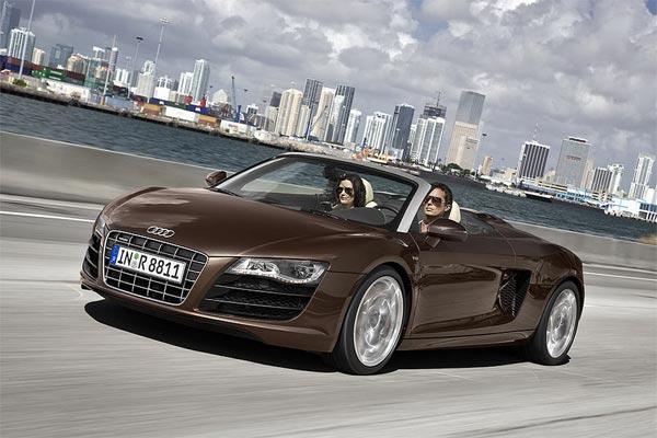 Audi R8 Spyderb