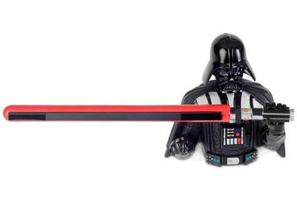 Darth Vader Wii Sensor Bar Holder