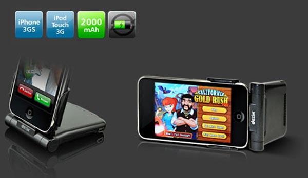 Dexim P-Flip iPhone Dock and Battery