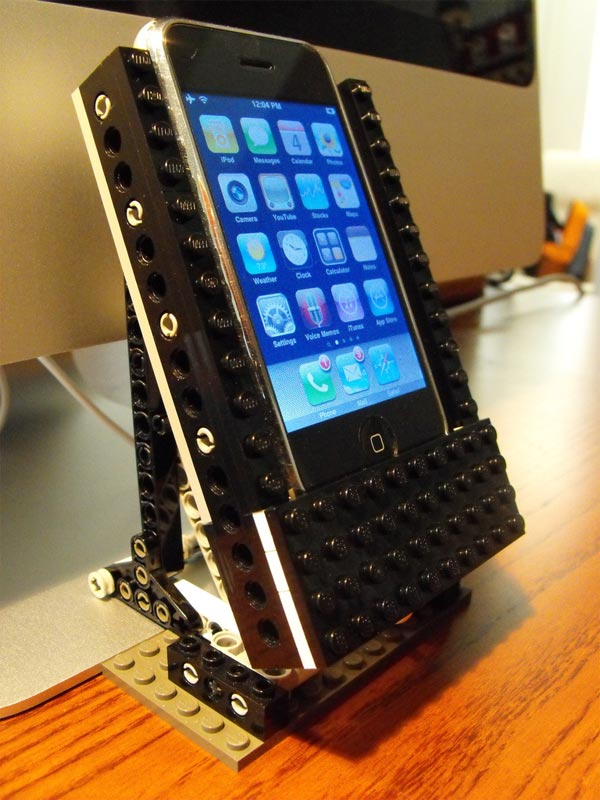 diy lego iphone dock