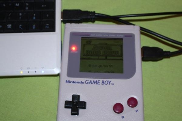 Game Boy Hard Drive Case Mod