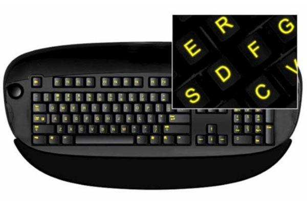 Glow In The Dark Keyboard Stickers