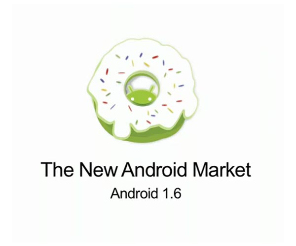Google Android Market 1.6 Announced