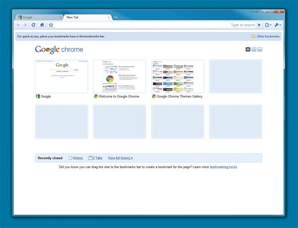 Google Chrome 3.0 Launched