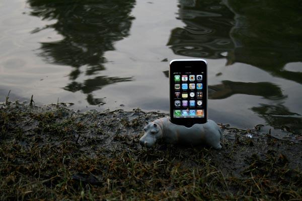Hippo iPhone Dock
