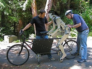 Joules The Tandem Pedaling  Robot