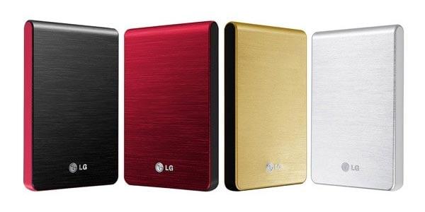 LG XD3 Slim Portable Hard Drive