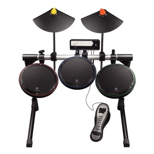 Logitech launch new wireless guitar/drums for the Xbox 360 and Wii