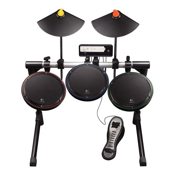 Logitech launch new wireless guitar and drums for the Xbox 360 and Wii