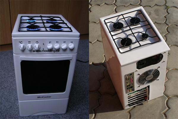 Mini Cooker PC Casemod