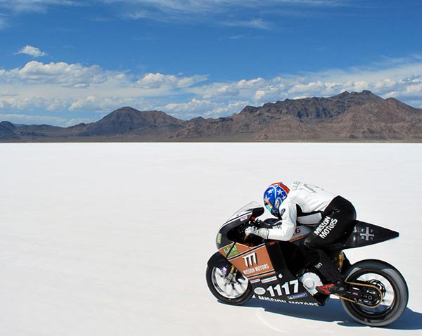Mission One Electric Motorcycle Hits 150 MPH