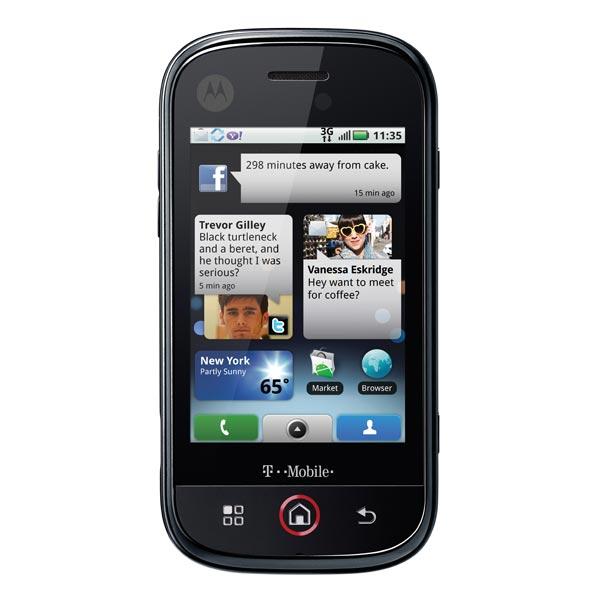 Motorola Cliq Android Smartphone
