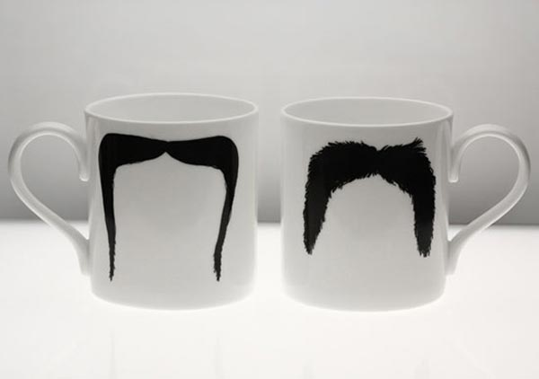Moustache Mugs