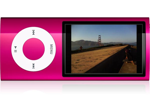 Apple Announces A New iPod Nano With Built In Camera