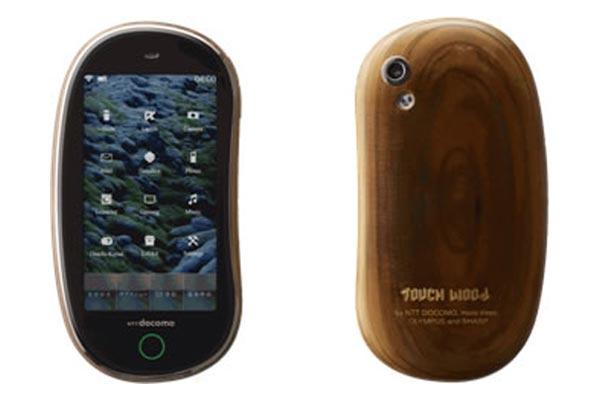 NTT Docomo Develops Wooden Mobile Phones
