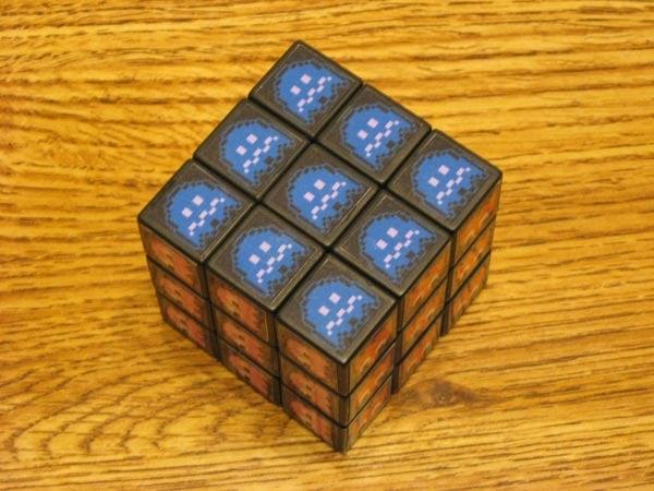 Pac-Man Rubik's Cube