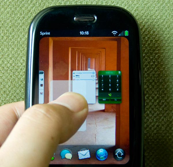 Palm Pre Hacked To Record Video