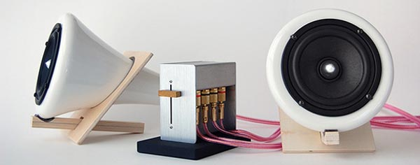 Porcelain Speakers
