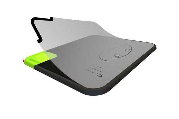 Quirky Scratch-n-scroll Mousepad