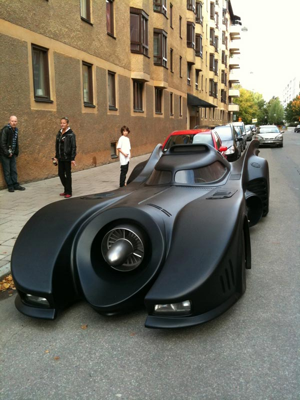 Full Scale Batmobile Replica