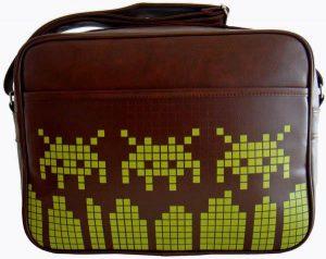 Retro Video Game Messenger Bags