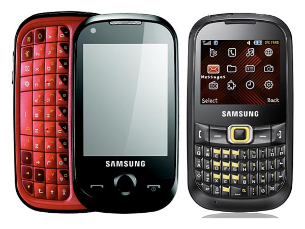 Samung CobryTXT and CorbyPRO Mobile Phones