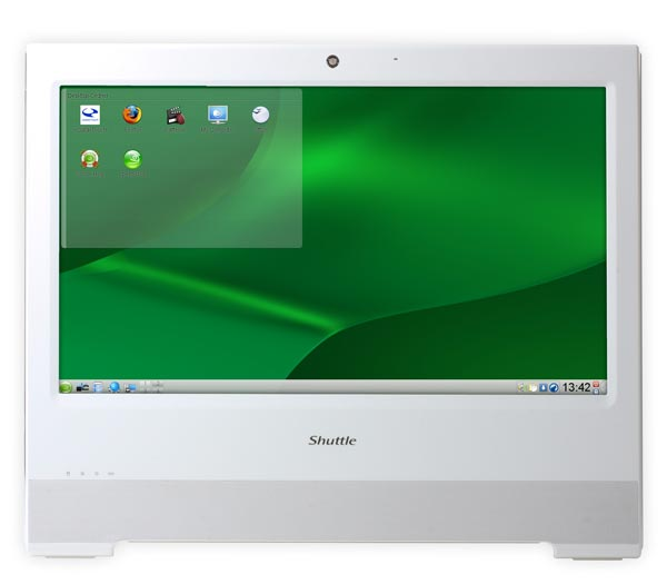 Shuttle X500V Ultra Thin All In One Linux PC