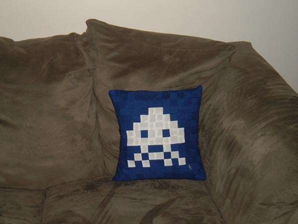 Space Invaders Pillows