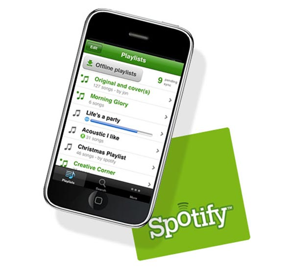 Spotify iPhone App Now Available