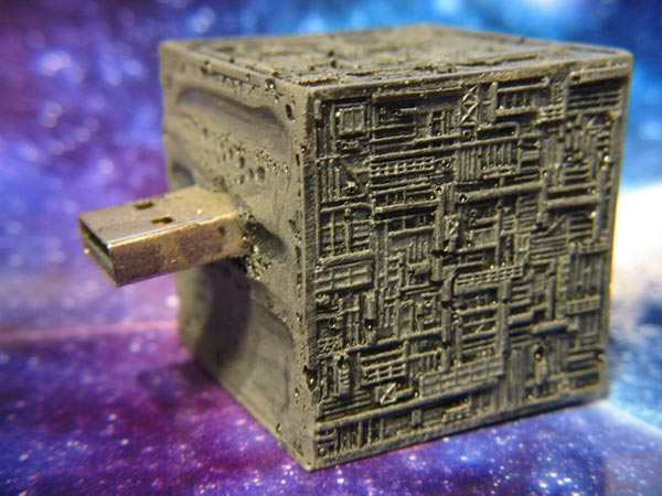 Star Trek Borg Ship USB Drive