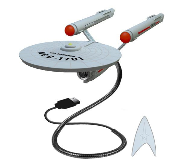 Star Trek U.S.S Enterprise Webcam