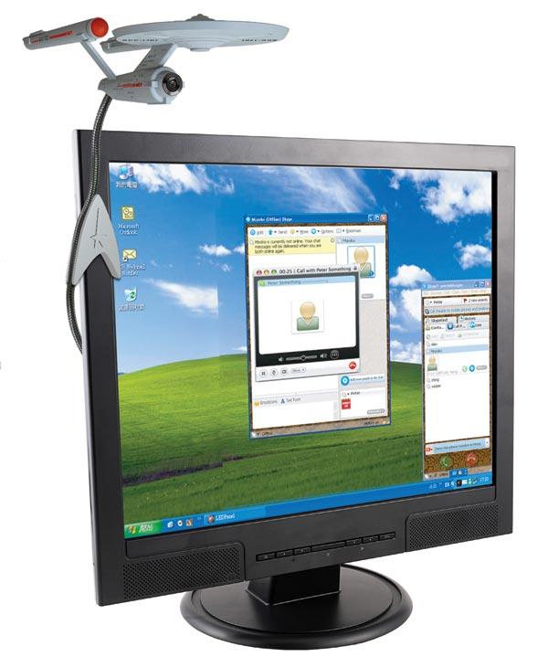 Star Trek U.S.S Enterprise Webcam