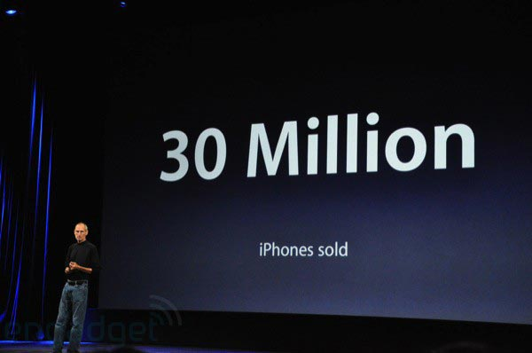 Steve Jobs Announces iTunes 9 and iPhone OS 3.1