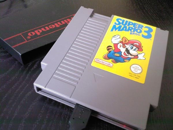 Super Mario Bros 3 NES Cartridge Hard Drive