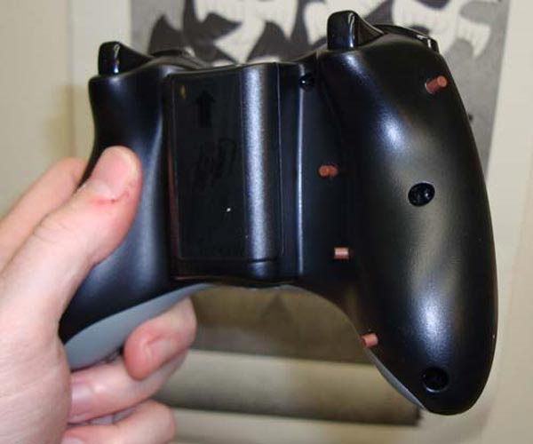 Swapped Xbox 360 Controller