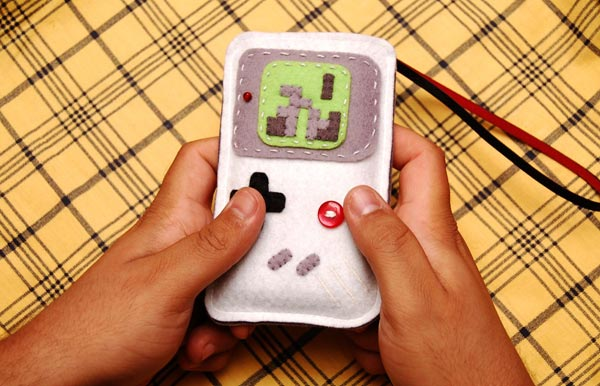 Tetris Game Boy iPhone Case