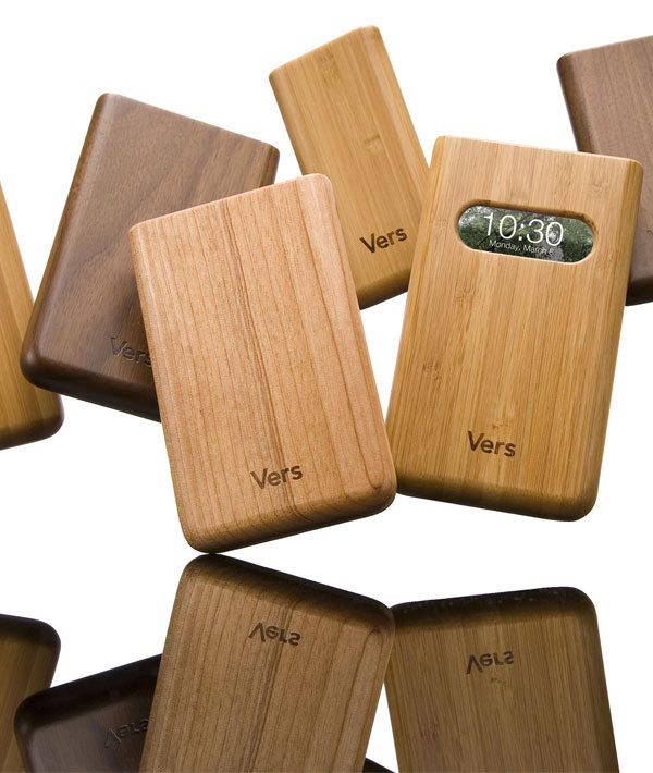 Vers Wooden iPhone and iPod Cases