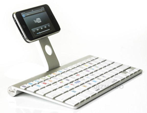 XSKN is working on a Bluetooth keyboard for the iPhone and iPod touch,