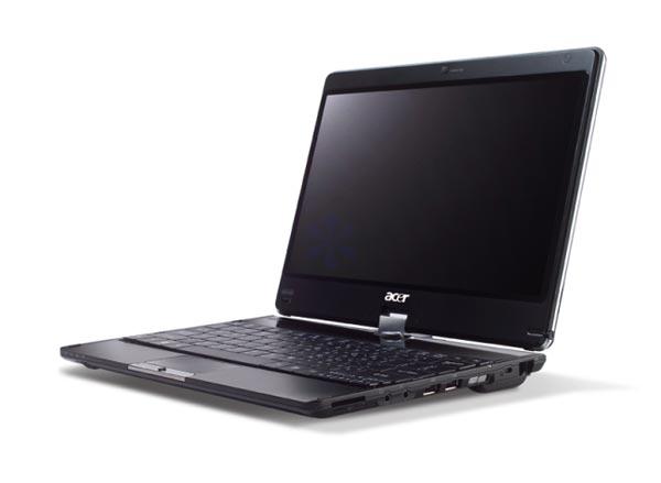Acer Aspire Timeline 1820P Windows 7 Multitouch Tablet