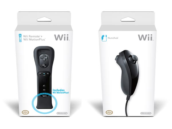Black Nintendo Wii-mote And Nunchuck Announced